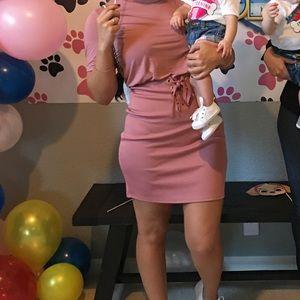 Asos mini dress w/ corset waist